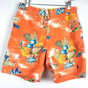 Polo Ralph Lauren Swim Trunks Swimwear Orange